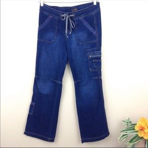 lei Utility L-17 Series Dark Blue Denim Jeans